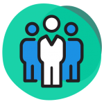 Icône - Groupe de personnes