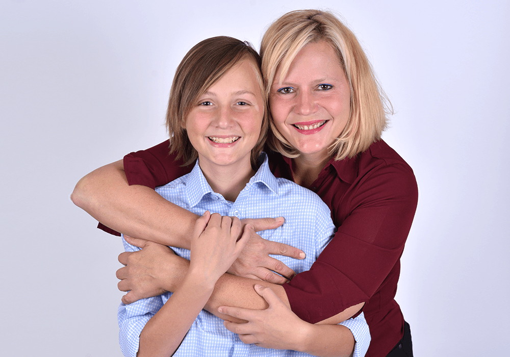 CCHF Champion avec sa mère